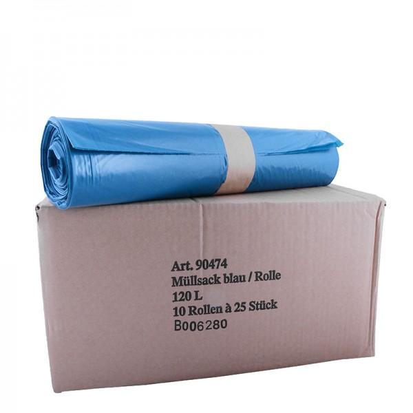 Abfallsack 120 lt. Typ 70, blau