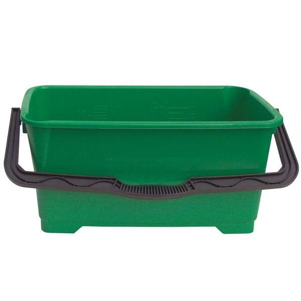 Eimer, 28 Liter, grün, viereckig