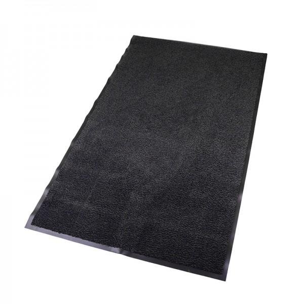 Schmutzfangmatte 90x150, schwarz-meliert