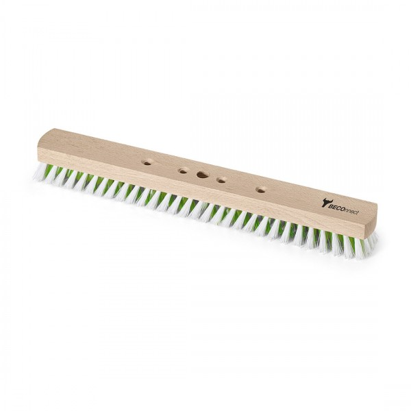 BECOnnect Schrubber, 40 cm Holz, PPN weiß/grün
