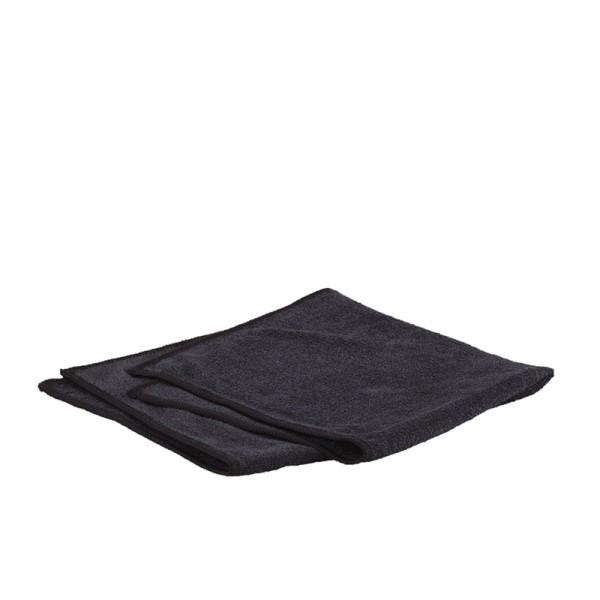 Micro-Frottee-Stretch, schwarz