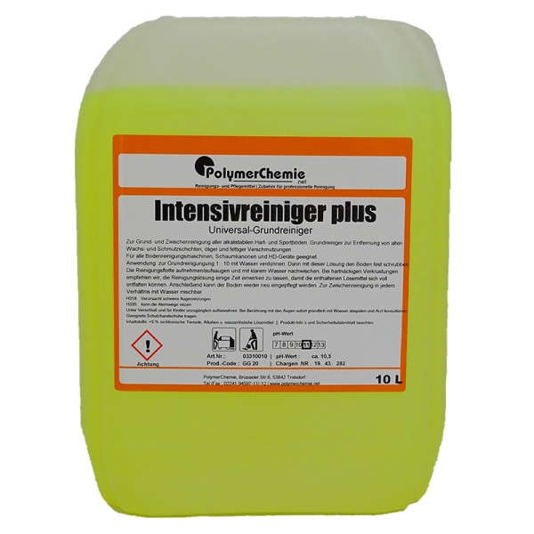 Intensivreiniger plus - 10 Liter