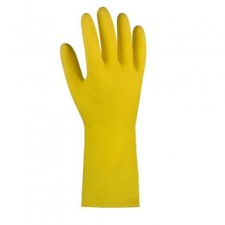 Gummihandschuh gelb