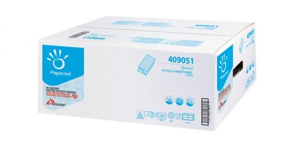 Handtuchpapier 2-lg. Hochweiß Zellstoff, 24 x 21 c