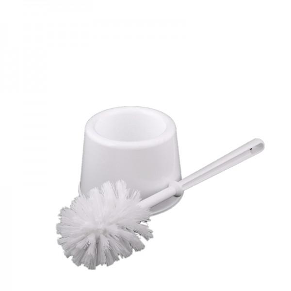 WC-Garnitur Topf, Kunststoff weiß