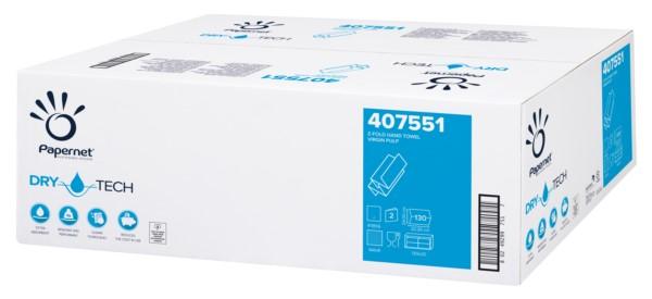 Handtuchpapier 2-lg. Hochweiß, 24 x 20,3 cm, Zells