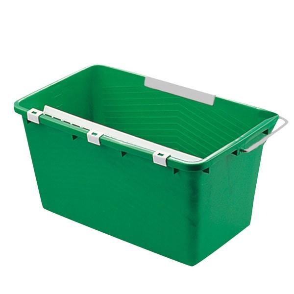 Eimer, 18 Liter, grün, viereckig